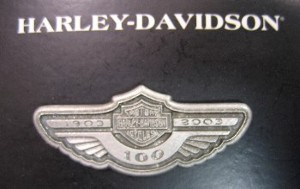 Harley Davidson Pin with Wings