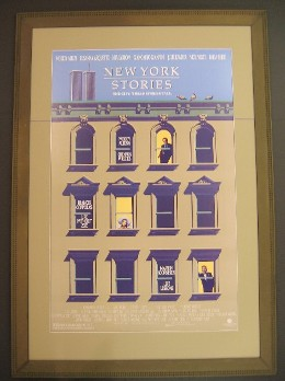 Original New York Stories Movie Poster