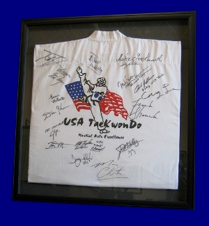 Tae Kwon Do Framed Shirt